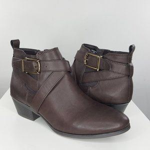 NEW Style & Co Harperr Strappy Ankle Booties